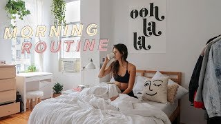 fall morning routine in nyc