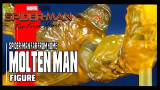 Spider-Man Far from Home The Molten Man | Hasbro Figure Review #SpiderMan