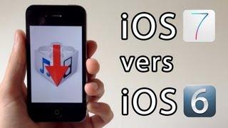 Downgrade de iOS 7.1.1 vers iOS 6 (6.1.3, 6.1.2, 6.x.x) pour iPhone