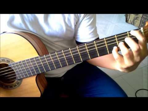 Mi pensamiento eres tu (Solo Guitarra Acustica) Musica Cristiana