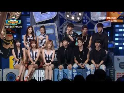 [ENG SUBS] 140709 C-CLOWN & FIESTAR  Show Champion Talk 쇼챔피언 토크
