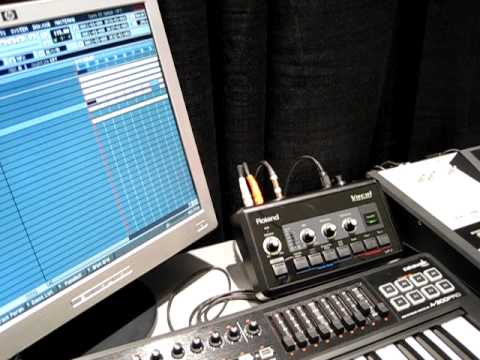 Roland VP-7 Vocal Processor As Production Tool (Demo by Mike Acosta)