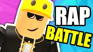 STRAIGHT FIRE in ROBLOX RAP BATTLE 3