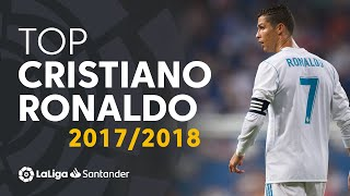 Cristiano Ronaldo BEST GOALS LaLiga 2017/2018