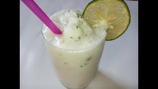 Cách làm sinh tố chanh tuyết ngon tuyệt tại nhà cực đơn giản_ Snow lemon smoothie