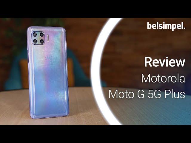 Belsimpel-productvideo voor de Motorola Moto G 5G Plus 64GB Blue