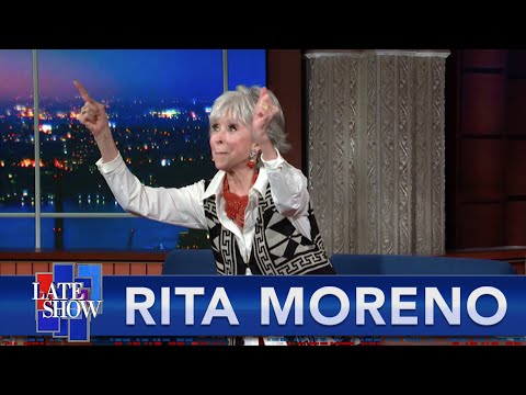 """""""It Turned Out To Be Anita"""" - Rita Moreno On Finding A Role Model In """"West Side Story"""""""