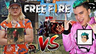 THE HECTORINO VS THE WICK 😱 EL PVP MAS DIVERTIDO DE TODO FREE FIRE 🤣 - THE WICK