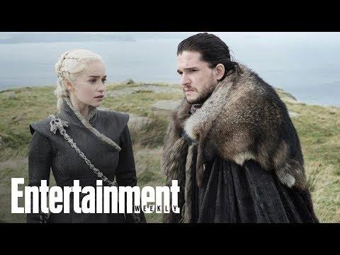 'Game Of Thrones' Stars Emilia Clarke & Kit Harrington Cuddle | News Flash | Entertainment Weekly
