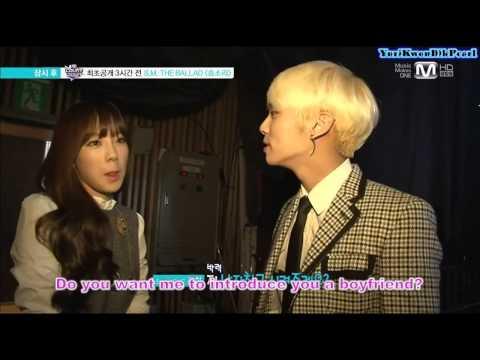 [ENG] 140213 SNSD TaeYeon & SHINee JongHyun Wide Entertainment News
