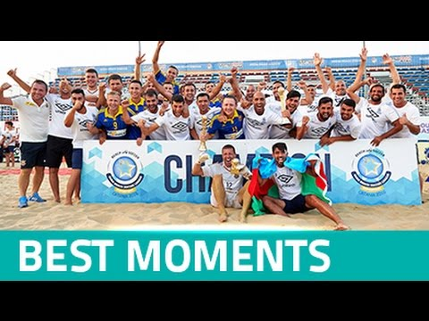 BEST MOMENTS - Euro Beach Soccer League Superfinal and Promotion Final Catania 2016