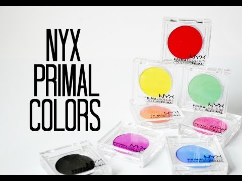 Review and Swatches: NYX Primal Colors