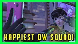 The Happiest Squad In Overwatch! - Seagull