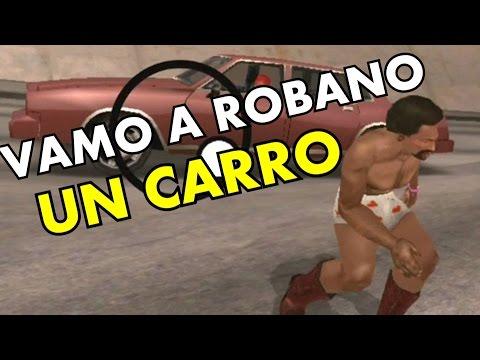 GTA San Andreas - TUTORIAL DE COMO ROBAR UN CARRO CON CJ