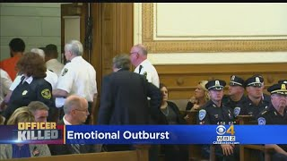 Slain Weymouth Police Sgt. Michael Chesna's Wife Shouts In Court At Suspected Killer