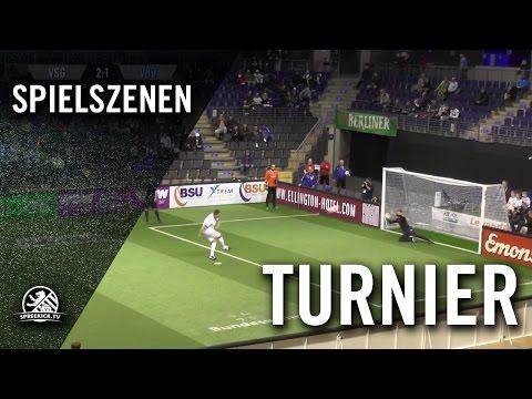 VSG Altglienicke - FC Viktoria 1889 Berlin (Regio Cup, Halbfinale) - Spielszenen | SPREEKICK.TV