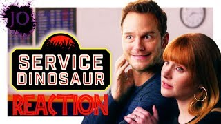 My Dinosaur Is a Service Animal (with Chris Pratt and Bryce Dallas Howard!) - Reaction