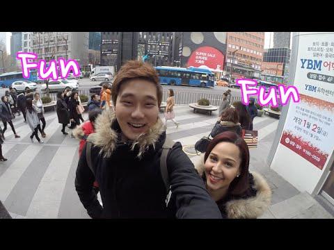 VLOG In Seoul Gangnam with Namu Randomness ha!