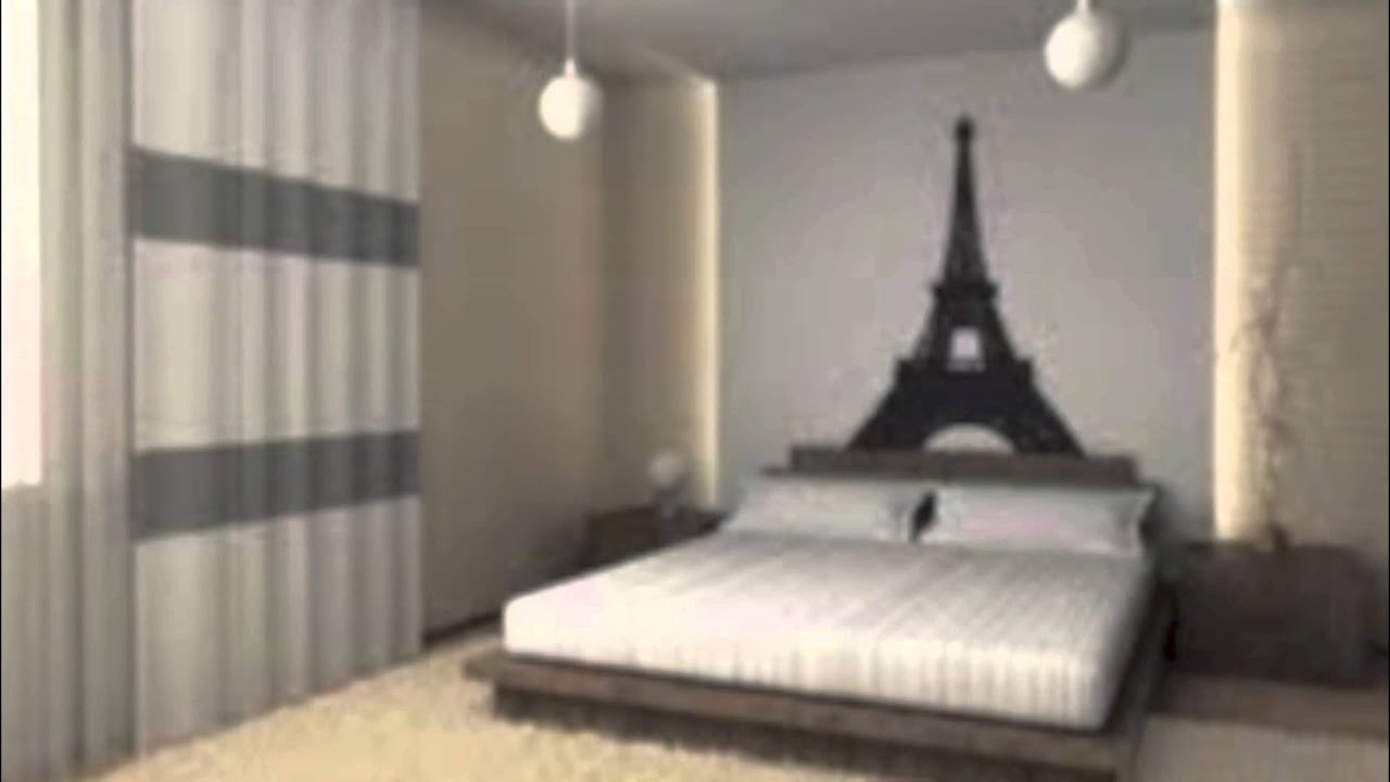 Ideas For Boys Bedrooms Teenage Paris Themed Bedrooms Youtube