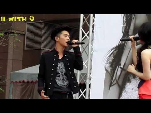 130420 畢書盡(Bii) & 朱俐靜(Miu) - 我會在你身邊(I will stand by your side) @ Miu台北簽唱會