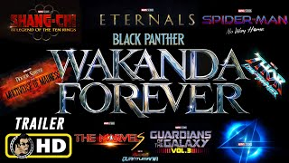 Marvel Studios PHASE FOUR [HD] Trailer (BLACK PANTHER 2: WAKANDA FOREVER)