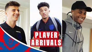 First Day for the Newbies and Rashford Misses Jesse Already! | Player Arrivals | Inside Access