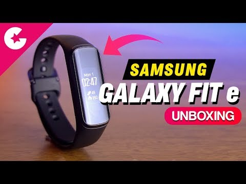 video Samsung Galaxy Fit e Smart Band<span class=