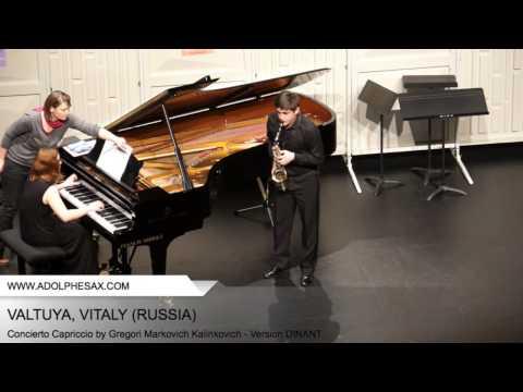 VATULYA Vitaly (Concierto Capriccio by Gregori Markovich Kalinkovich - Version DINANT)