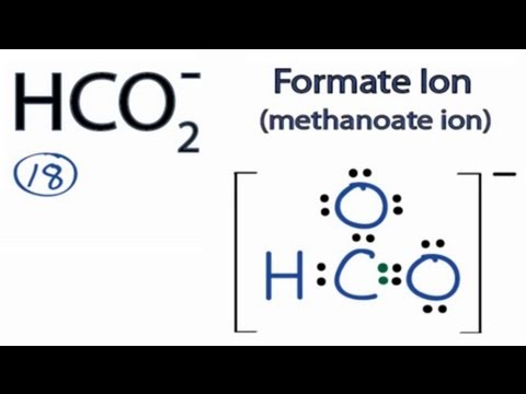 HCO2- Lewis Structure: How to Draw the Lewis Structure for ...