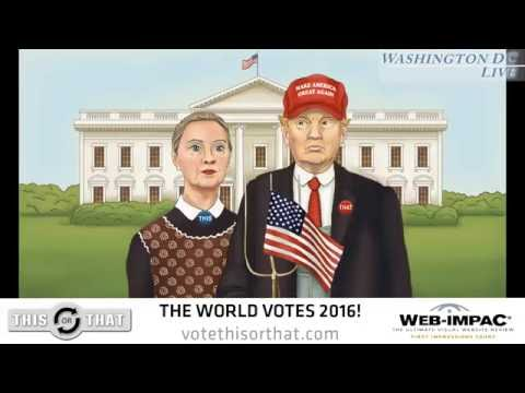 """The World Votes 2016: Hillary Clinton vs. Donald Trump"" Virtual Election"