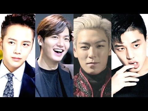 KOREAN STARS ENTERING MILITARY 2016