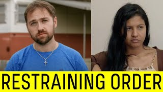 Paul & Karine Both Granted Restraining Orders on Each Other.