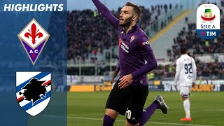 Fiorentina 3-3 Sampdoria   Thrilling three goal finale in Florence!    Serie A