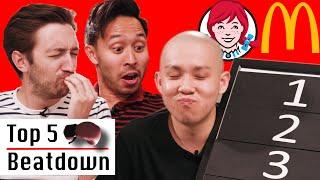 Michelin Star Chef Ranks Top 5 Fast Food Chains • Top 5 Beatdown