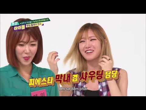 주간아이돌 (Weekly Idol) - 뉴이스트vs피에스타 랜덤 플레이 댄스 (Vietnam Sub)