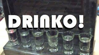 DRINKO! Not affiliated with PLINKO!