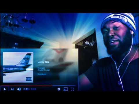 (THE HIP HOP GODS ARE PLEASED.....) Eminem - Lucky You - Ft Joyner Lucas - Kamikaze album - REACTION