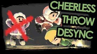 Cheerless Throw Desync - SSBU Ice Climbers