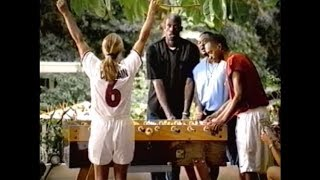 """What's up with the shirt?"" (Nike Commercial ft. Kevin Garnett & Brandi Chastain)"