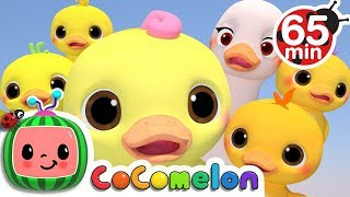 Five Little Ducks 3D | + More Nursery Rhymes & Kids Songs - ABCkidTV - YouTube
