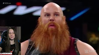 WWE Smackdown 1/2/18  Bludgeon Brothers
