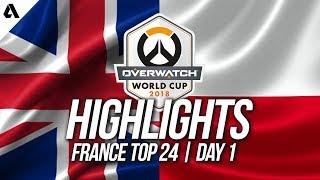 Poland vs United Kingdom | Overwatch World Cup 2018 Paris Qualifier Day 1