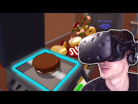 WORKER PHOTOCOPIES DONUTS & BECOMES RICH! - Job Simulator Gameplay - HTC Vive VR