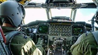 Inside A B-52 Cockpit • Takeoff To Landing