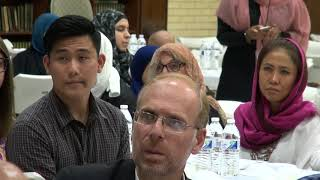 People of Different Faiths Unite for Muslim Ramadan Meal