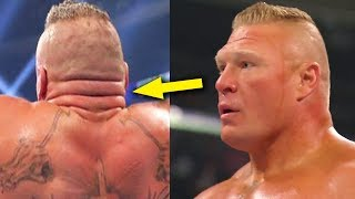 What's Wrong with Brock Lesnar's Neck? 10 Strange Things You Never Noticed About WWE Wrestlers