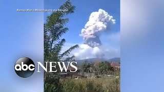 Volcano eruption adds to tsunami devastation