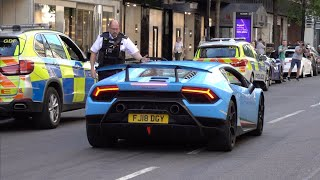 Police in London HATE SUPERCARS!!!