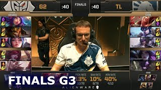 G2 eSports vs Team Liquid - Game 3 | Grand Final LoL MSI 2019 | G2 vs TL G3