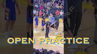 live[9:16] Klay gets huge ovation at Warriors Open Practice, Smailagic on crutches, WCS our of boot